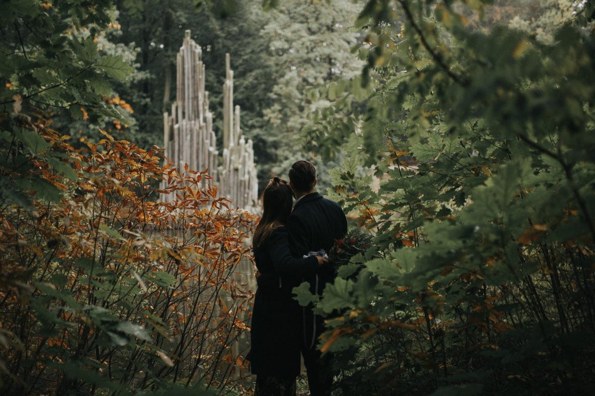 Ania i Kuba w Azalea and Rhododendron Park Kromlau