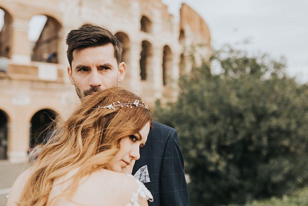 sesja ślubna w rzymie fotografia ślubna poznań twardowski rome italia włochy coloseo koloseum